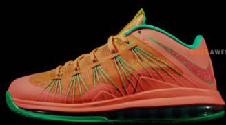 Nike LeBron X Low Watermelon Bright Mango