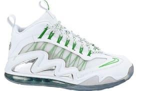 Nike Air Max 360 Diamond Griffey White/White-Metallic Silver-Apple Green