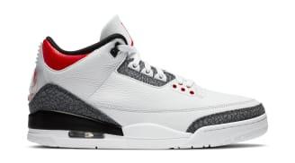 Air Jordan 3 Retro SE-T CO.JP White/Fire Red-Black