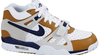 Nike Air Trainer III Premium White/Midnight Navy-Ginger-Light Bone