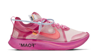 Off-White x Nike Zoom Fly SP Tulip Pink/Racer Pink