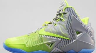Nike LeBron 11 Metallic Luster/Volt-Ice