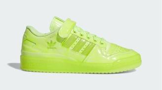 """Jeremy Scott x Adidas Forum Low """"Solar Yellow"""""""