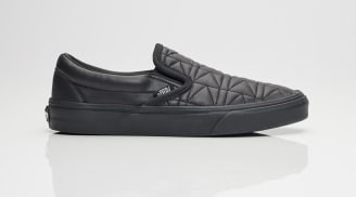 "Karl Lagerfield x Vans Slip On ""Black"""
