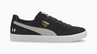 The Hundreds x Puma Clyde Puma Black-Puma White