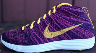 Nike Lunar Flyknit Chukka Black/Laser Orange-Grand Purple-Neo Turquoise-Pink Flash-Sail