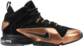 366612a07f51 Nike Zoom Penny VI Black Metallic Copper-White