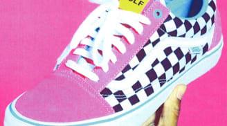 Vans Syndicate Old Skool Pink/Black-White
