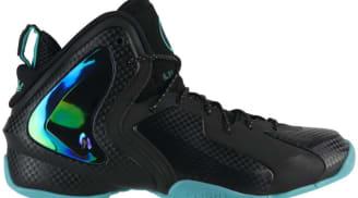 Nike Lil' Penny Posite Black/Black-Reflective Silver-Hyper Jade