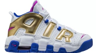"Nike Air More Uptempo GS ""Fuchsia Blast"""