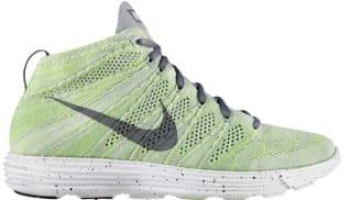 Nike Lunar Flyknit Chukka Wolf Grey/Cool Grey-Electric Green-White