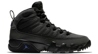 Air Jordan 9 Retro Boot NRG Black/Black-Concord