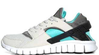 Nike Huarache Free Run 2012 Light Bone/Soft Grey-Calypso
