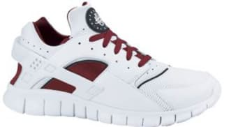 Nike Huarache Free Run 2012 White/White-Team Red
