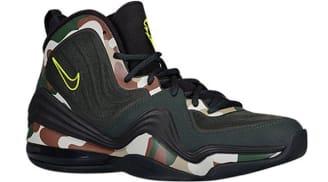 Nike Air Penny V Camo Black Spruce/Black-Volt