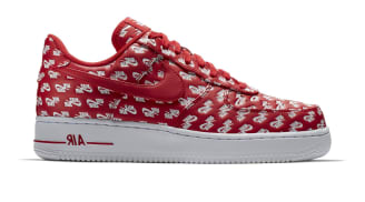 """Nike Air Force 1 Low '07 QS Logo """"Red"""""""