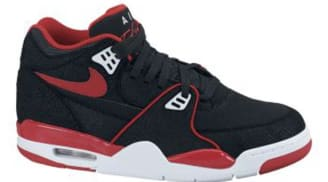 half off fc792 c1327 Nike Air Flight  89 Black Sport Red-White