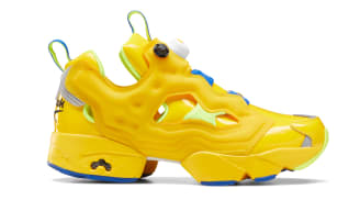 Minions x Reebok Instapump Fury Primal Yellow/Solar Yellow/Humble Blue