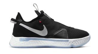 Nike PG 4 Black/White-Smoke Grey