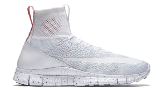 "Nike Free Mercurial Superfly ""White/University Red"""