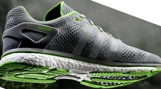 adidas adiZero Prime Boost Cool Grey/Silver Metallic-Solar Green