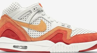 Nike Air Tech Challenge II QS Light Bone/Laser Orange-Cinnabar-Summit White-Team Orange-Bright Citrus