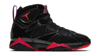Air Jordan 7 Retro WMNS Black/Bright Crimson-Anthracite
