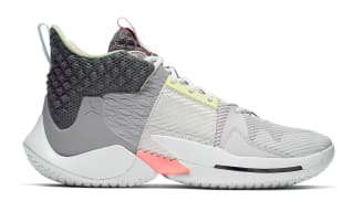 Jordan Why Not Zer0.2 Vast Grey/Gunsmoke-Atmosphere Grey-White