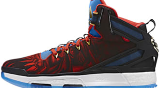 adidas D Rose 6 Boost Core Black/Vivid Red-Shock Blue