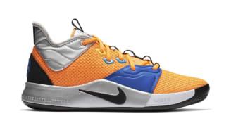 Nike PG 3 Total Orange/Black-Metallic Silver (NASA)