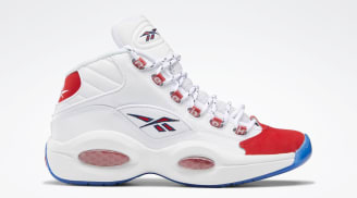 "Reebok Question Mid ""Red Suede Toe"""