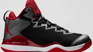 Jordan Super.Fly 3 Black/White-Varsity Red