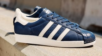 Cheap Adidas Superstar Vulc ADV Shoes Collegiate Navy / Chalk White