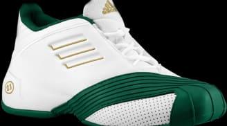 adidas T-Mac 1 Running White/Forest Green-Metallic Gold