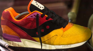 Saucony Shadow Master Yellow/Orange-Red-Black