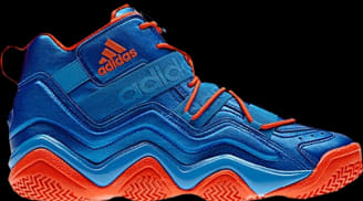 adidas Top Ten 2000 Bright Blue/Bright Blue-High Energy