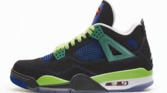 Isaiah's Air Jordan 4 Retro DB Doernbecher