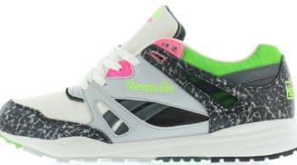 12ca0848687 Reebok Ventilator OG Chalk Grey-Green-Pink