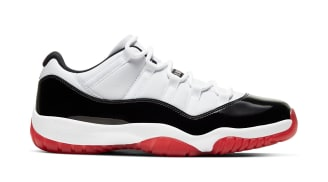 Air Jordan 11 Low White/University Red-Black-True Red