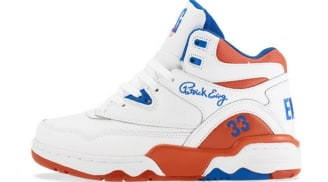 Ewing Athletics Ewing Guard White/Prince Blue-Vibrant Orange