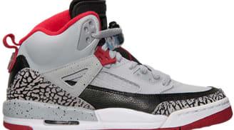 Jordan Spiz'ike Wolf Grey/Black-White-Gym Red