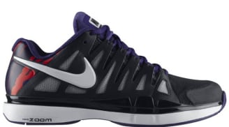 reputable site e285f 69fff Nike Zoom Vapor 9 Tour Black White-Court Purple