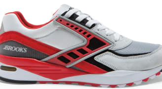 Brooks Regent Alloy/High Risk Red-Black