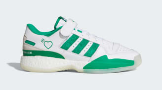 Human Made x Adidas Forum Low Cloud White/Green/Off White