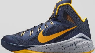 Nike Hyperdunk 2014 PE Midnight Navy/University Gold-Cement Grey