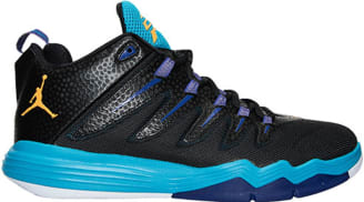 Jordan CP3.IX Black/Laser Orange-Blue Lagoon
