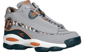 Reebok Answer DMX 10 Grey/White-Blue-Orange