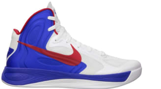 Nike Zoom Hyperfuse 2012 White/University Red-Game Royal