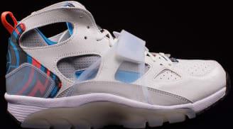 c4b1eb86774e Nike Air Trainer Huarache Premium QS White Blue Lagoon-Black-Hot Lava