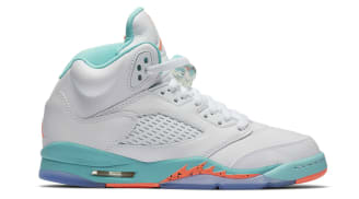 "Air Jordan 5 GS ""Light Aqua"""